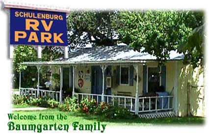 Schulenburg RV Park Is Located In A Friendly Rural German Czech Community Surrounded By The Major Metropolitan Cities Of San Antonio Austin Col