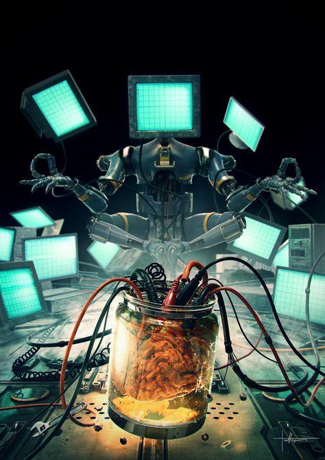 intelligence artificial deviantart by on Artificial Intelligence by on DeviantArtArtificial Intelligence by on DeviantArt Artificial Intelligence Article, Artificial Intelligence Algorithms, Machine Learning Artificial Intelligence, Artificial Neural Network, Futuristic Art, Cyberpunk Art, Cyberpunk Fashion, Science Fiction Art, 3d Artist