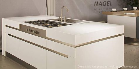 Precise finish options. Corian can be fabricated neatly into ...