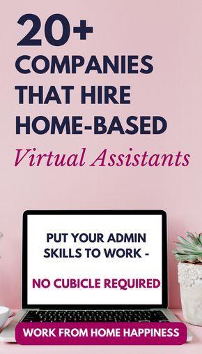20+ Virtual Assistant Jobs