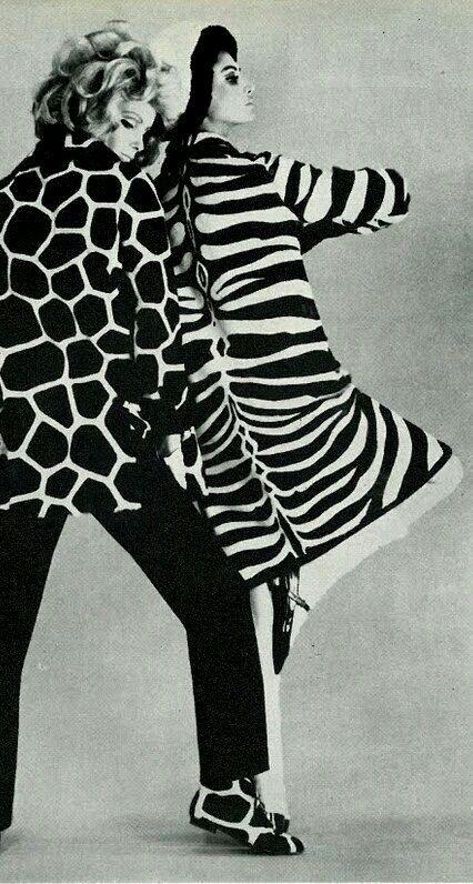 Pin By Paul Burgo On Stjf20 Animal Print Fashion Vintage Fashion Photography 60s Fashion Trends