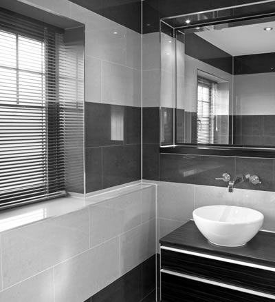grey bathroom tiles - Google Search | My New Home | Pinterest ...