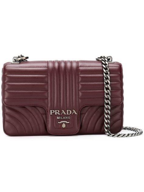 f4ef2aa0996a PRADA QUILTED CROSSBODY BAG.  prada  bags  shoulder bags  leather  crossbody