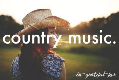 You got it sistah...country music:) Spend a week in the country music capital of the world and hear the newbies and the legends!