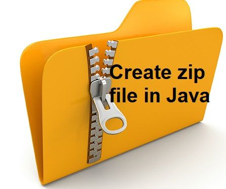 Write a program to compress files in zip using Java
