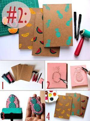 Cómo Decorar Cuadernos O Libretas Paso A Paso Solountip