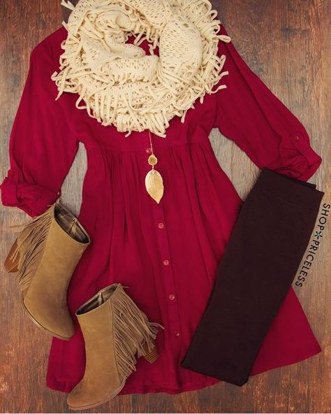 Refashion my cranberry corduroy dress? Shorten the hem?