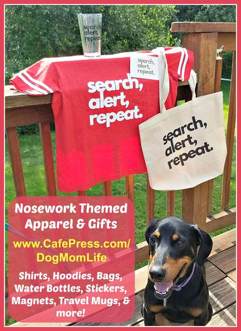 Apparel Accessories For Canine Nosework Trainers And Their Dogs