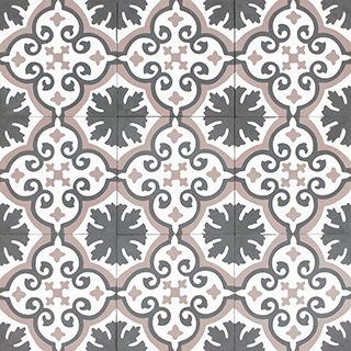 Carreaux De Ciment Bahya Modele Jules Unis Format Hexagonal
