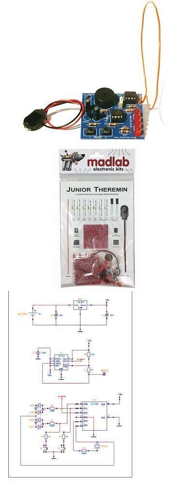 Details About Mlp105 Madlab Diy Electronic Diy Kit Junior Theremin Special