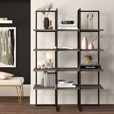 Mercury Row Keeble Cube Bookcase Size 60 Etagere Bookcase