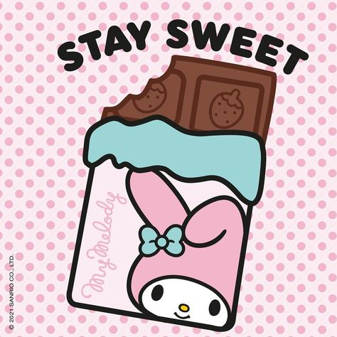 """Hello Kitty & Friends on Instagram: """"#TipOfTheDay by our #MyMelody Remember to Stay Sweet 😍💝🍫🍭🍡 #HelloKittyandFriends #Sanrio"""""""