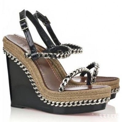 best service 45215 97a15 Christian Louboutin Macarena 120mm Wedges Black   Love My ...