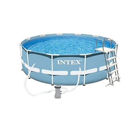 Intex Piscine Tubulaire Intex Ronde 366 X 122 M Piscine