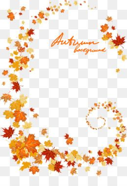 Autumn Leaves Png Autumn Leaves Transparent Clipart Free Download Download Autumn Hand Painted Autumn Leaves Floral Border Free Clip Art Autumn Leaves