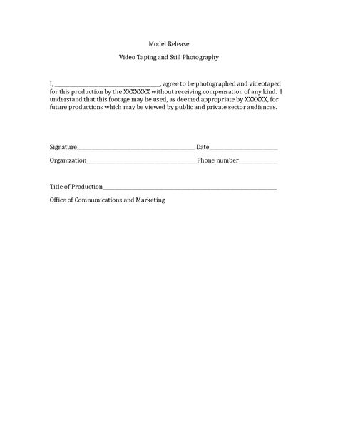 Photography Print Release Form Sample photography Pinterest - model release form in pdf