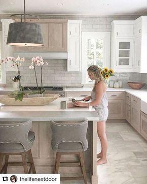 40 Popular Modern Farmhouse Kitchen Backsplash Ideas Arredamento