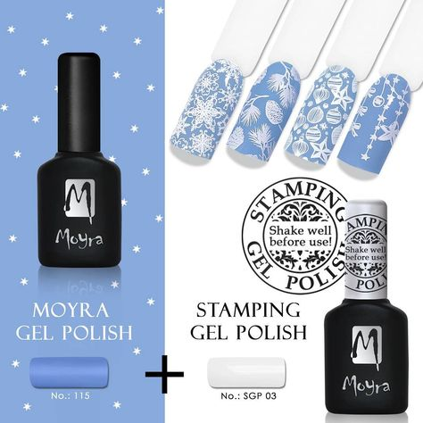 mani Nail art with No. 36 WINTER IS...