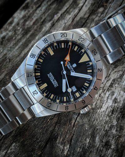 Steinhart Ocean Vintage Gmt Watch Review Watches Steinhart Watch Aviator Watch