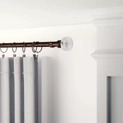 Three Posts Sheena Double Curtain Rod And Hardware Set Size 97