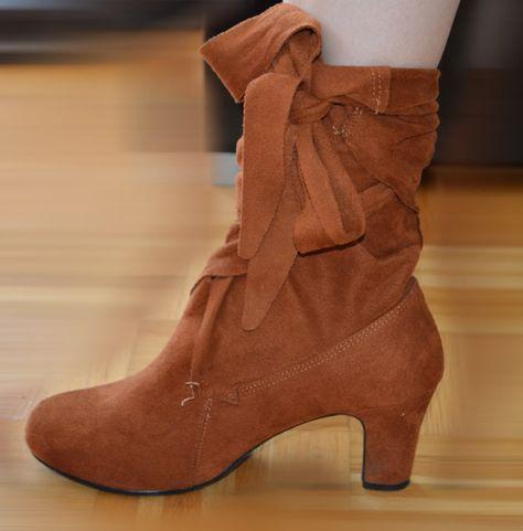 Boots Mit Schleife In 3suisses Zum Binden Ankle Stiefeletten 1JlFcTK3