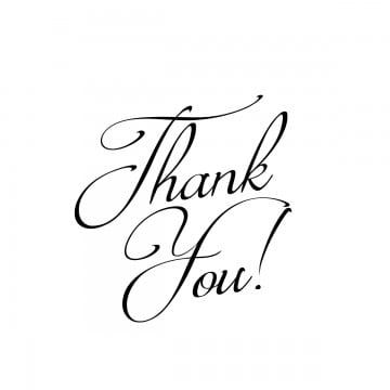 Thank You Png Png Text Thank You Typography Thank You Images