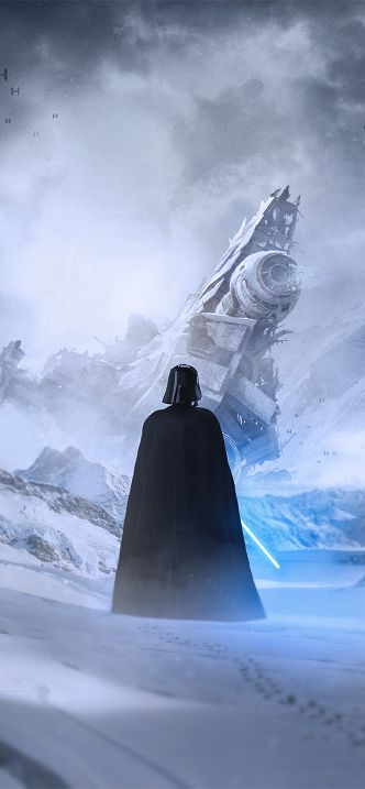 Vader and The Clone Wars Wallpaper - iPhone 11