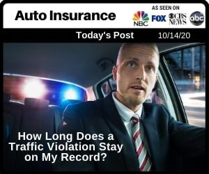 How Long Does A Traffic Violation Stay On My Record In 2020 Auto Insurance Companies Car Insurance Traffic