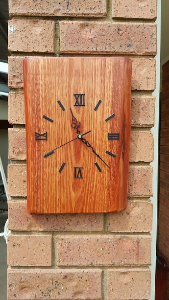 Diy Wood Clocks Handmade Crafts Diy Wood Projects