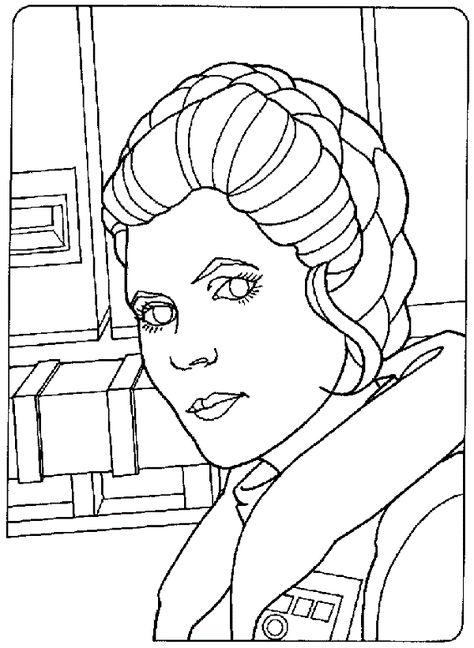 Star Wars Coloring Pages Princess Leia New Coloring Pages Coloriage Star Wars Coloriage Coloriage Gratuit