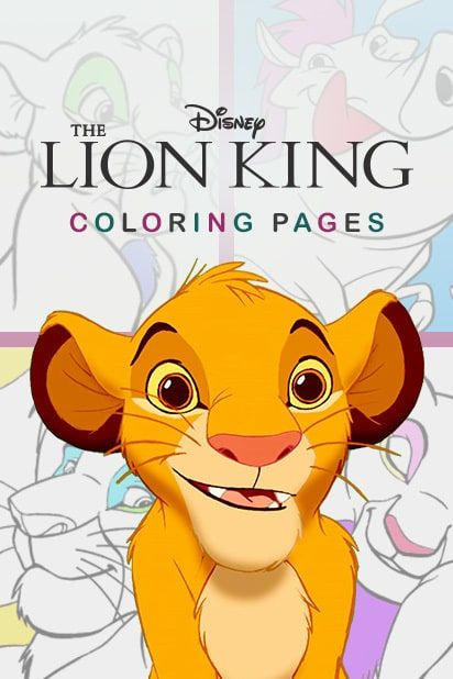 Category Coloring Pages The Lion King Lion King King Cartoon Lion King Pictures