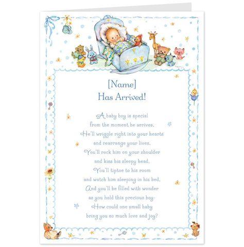 Hallmark Valentine's Day Poems. Baby Boy Poem Congratulations CardHallmark Cards Aus