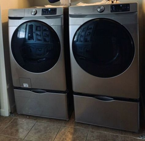 Samsung Washer And Dryer With Pedestals Forsale Appliances