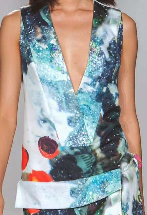 patternprints journal: PRINTS, PATTERNS AND SURFACES FROM NEW YORK FASHION WEEK (WOMAN COLLECTIONS SPRING/SUMMER 2015) / 12