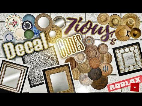 (3170) Decals Codes   Decals Ids   Bloxburg ROBLOX - YouTube