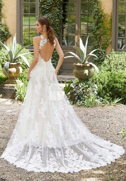 Blu By Morilee 5705 Prudence Sweetheart Illusion Neckline With Keyhole Back Wedding Dress Wedding Dresses Mori Lee Wedding Dress Keyhole Back Wedding Dress