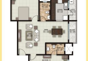 20 40 House Plan 2bhk 1 Bhk 2 Bhk And 3 Bhk Apartments In Coimbatore Sobha Elan 20x40 House Plans 2bhk House Plan 30x40 House Plans