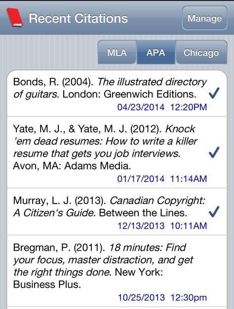 EasyBIB Free Scan a books barcode for citation Choose format - knock em dead resumes