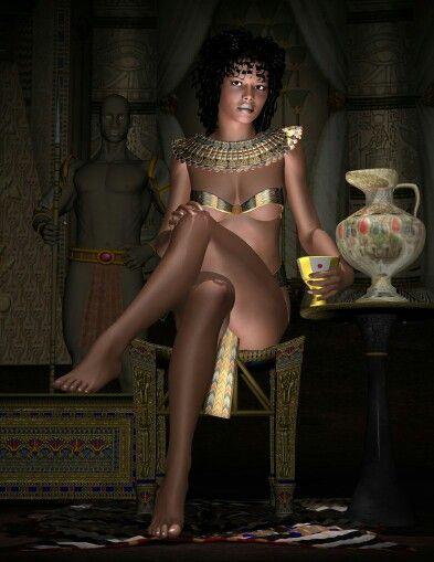 Busty egyptian princess