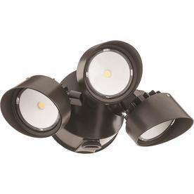 Lithonia Lighting 200 Watt Eq Bronze Integrated Led Dusk To Dawn Floodlight Olf3rh40k120peddbm4 Lithonia Lighting Flood Lights Lithonia