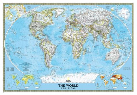 National Geographic World Map Murals.How To Hang A National Geographic World Map Mural Map Madness