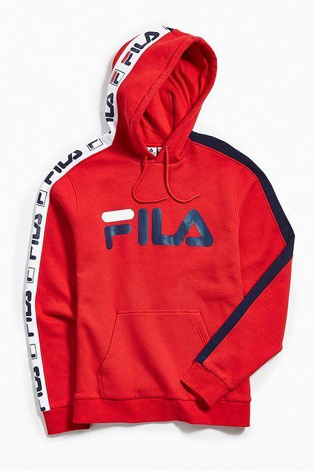 71dd4c95 FILA Fifty-Fifty Hoodie Sweatshirt | Outfit en 2019 | Ropa calvin ...