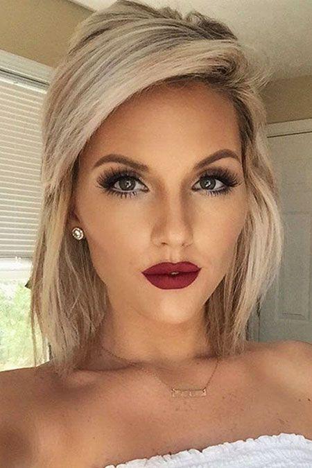 20 Wedding Hairstyles For Short Hair In 2020 Blonde Hair Makeup Short Wedding Hair Makeup For Blondes