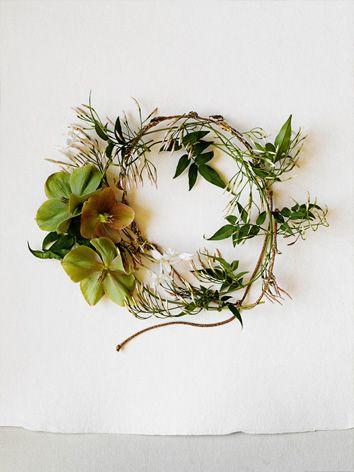 flowering jasmine crown. by amy merrick.