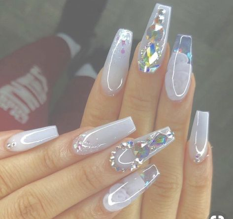 48 Gorgeous Nail Choices For 2019. Whether you enjoy a natural manicure, gel nails, or acrylic nails, or even just painting your own nails, these nail designs would be a perfect fit for anyone. With a variety of nail colours and designs, there is something for everyone here. Click to view more