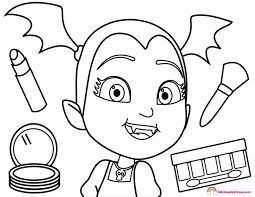 Image Result For Spring Vampirina Print Coloring Pages Disney