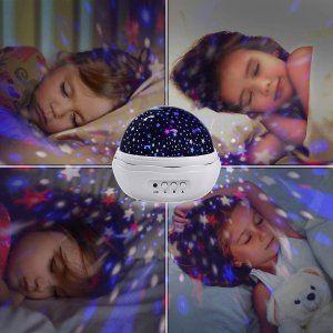 お部屋に星空dbrose スタープロジェクター ライト 星空ライト 家庭用