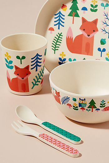 Kitchen Dining Entertaining Collections Anthropologie Dinnerware Set Petit Collage Bamboo