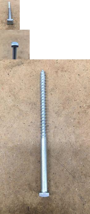 Details About 1 4 X 5 Square Head Lag Bolt Steel Zinc Blacksmith Antique 20 Pcs Lag Bolts Blacksmithing Zinc