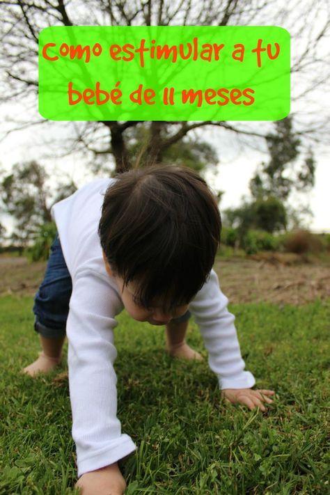 Actividades Para Estimular A Tu Bebé De 11 Meses Mama Xxi Bebe Bebe 11 Meses Estimulacion Bebes
